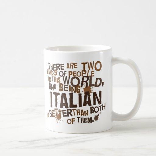 Italian Gift (Funny) Classic White Coffee Mug