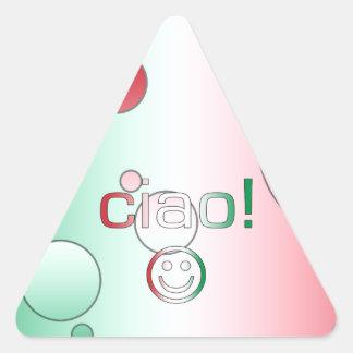 Italian Gifts : Hello / Ciao + Smiley Face Sticker