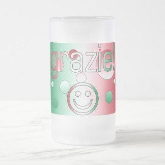 Italian Gifts : Thank You / Grazie + Smiley Face Mug