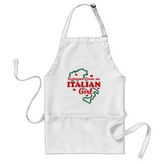 Italian Girl Adult Apron