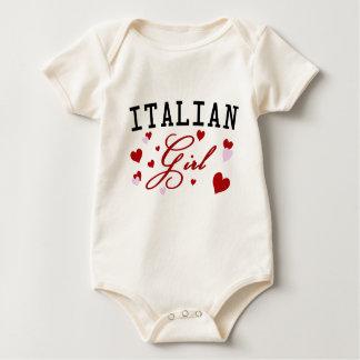 Italian Girl Baby Shirt