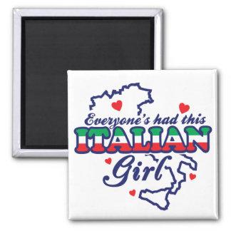 Italian Girl Magnet