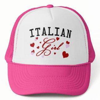 Italian Girl Pink Hat hat