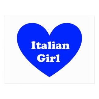 Italian Girl Postcard