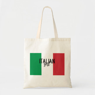 Italian Girl Tote Bag