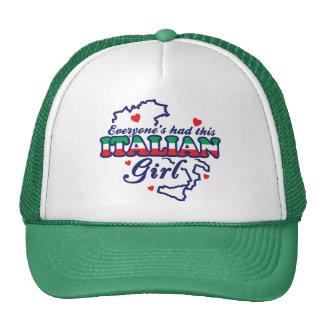 Italian Girl Trucker Hat