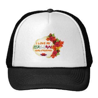 Italian Girlfriend designs Hat