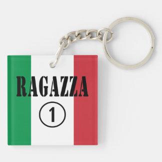Italian Girlfriends : Ragazza Numero Uno Keychain
