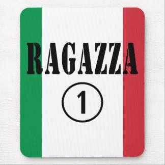 Italian Girlfriends : Ragazza Numero Uno Mouse Pad