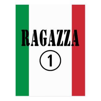 Italian Girlfriends : Ragazza Numero Uno Postcard