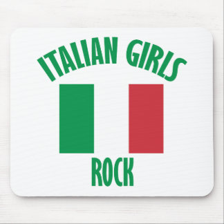 Italian girls DESIGNS Mouse Pad
