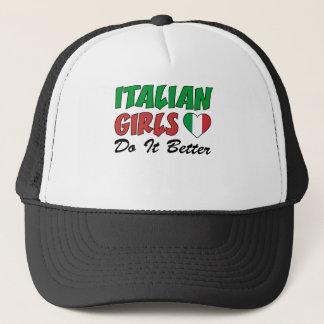 Italian Girls Do It Better Trucker Hat