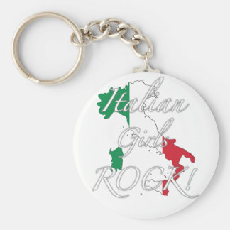 Italian Girls Rock! Keychain