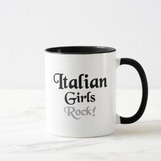 Italian girls rock mug