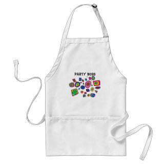Italian Glass Party Adult Apron