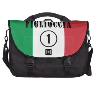 Italian Goddaughters : Figlioccia Numero Uno Laptop Messenger Bag