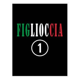 Italian Goddaughters Figlioccia Numero Uno Postcards