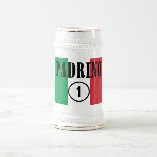 Italian Godfathers : Padrino Numero Uno 18 Oz Beer Stein