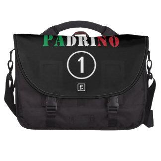 Italian Godfathers : Padrino Numero Uno Laptop Messenger Bag