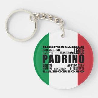 Italian Godfathers : Qualities Keychain