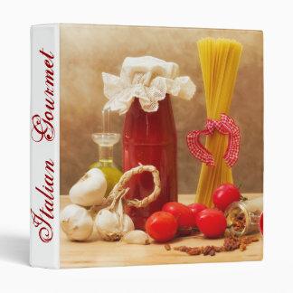 italian gourmet book binder