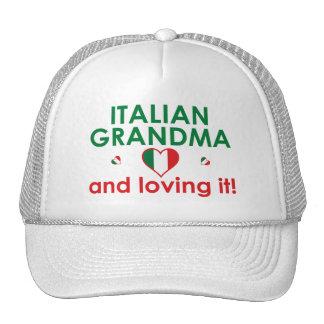 Italian Grandma and Loving It! Trucker Hats