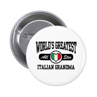 Italian Grandma Button