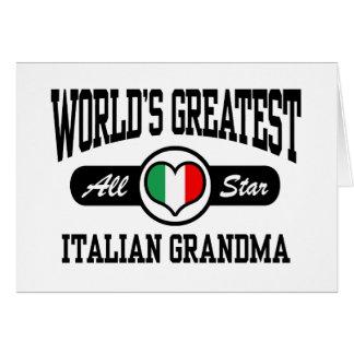 Italian Grandma Card