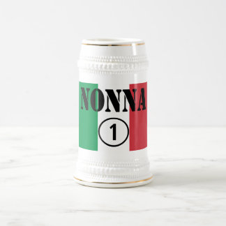 Italian Grandmothers : Nonna Numero Uno Beer Stein