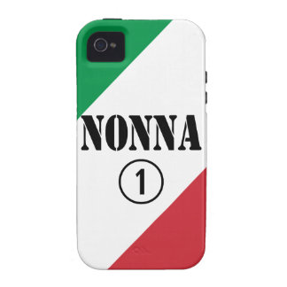 Italian Grandmothers : Nonna Numero Uno Vibe iPhone 4 Case