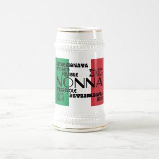 Italian Grandmothers : Qualities Beer Stein