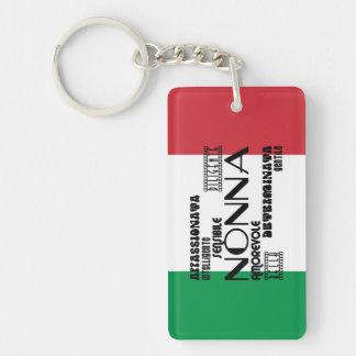 Italian Grandmothers : Qualities Keychain