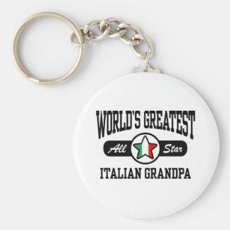 Italian Grandpa Keychain