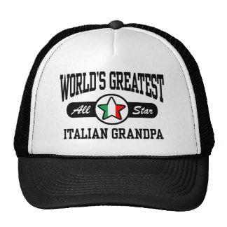 Italian Grandpa Trucker Hat