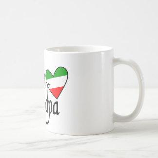 Italian Grandpa Tshirt Coffee Mug