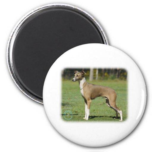 Italian Greyhound 9R031D-014 2 Inch Round Magnet
