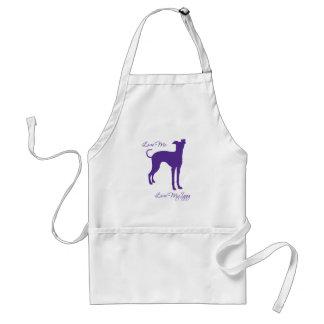 Italian Greyhound Adult Apron