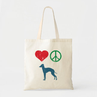 Italian Greyhound Tote Bag