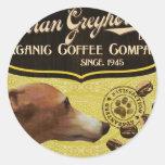 Italian Greyhound Brand – Organic Coffee Company Stickers