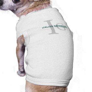 Italian Greyhound Breed Monogram Shirt