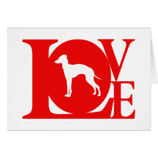 Italian Greyhound Card