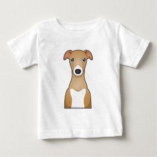 Italian Greyhound Cartoon Baby T-Shirt