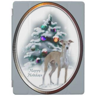 Italian Greyhound Christmas iPad Cover