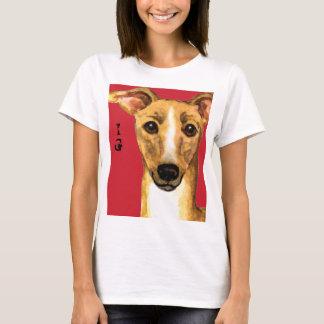Italian Greyhound Color Block T-Shirt