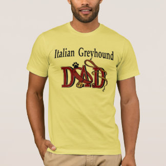 Italian Greyhound Dad Apparel T-Shirt