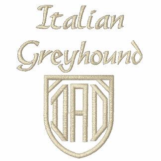 Italian Greyhound Dad Embroidered Polo Shirts