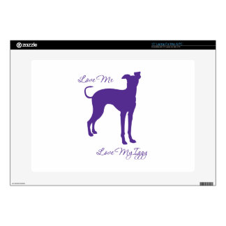 Italian Greyhound Decal For Laptop