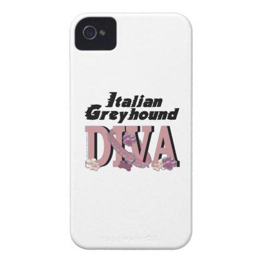 Italian Greyhound DIVA iPhone 4 Case-Mate Case