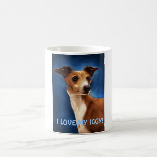 Italian Greyhound Dog Art - Magnifico Coffee Mug