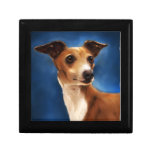 Italian Greyhound Dog Art - Magnifico Gift Box